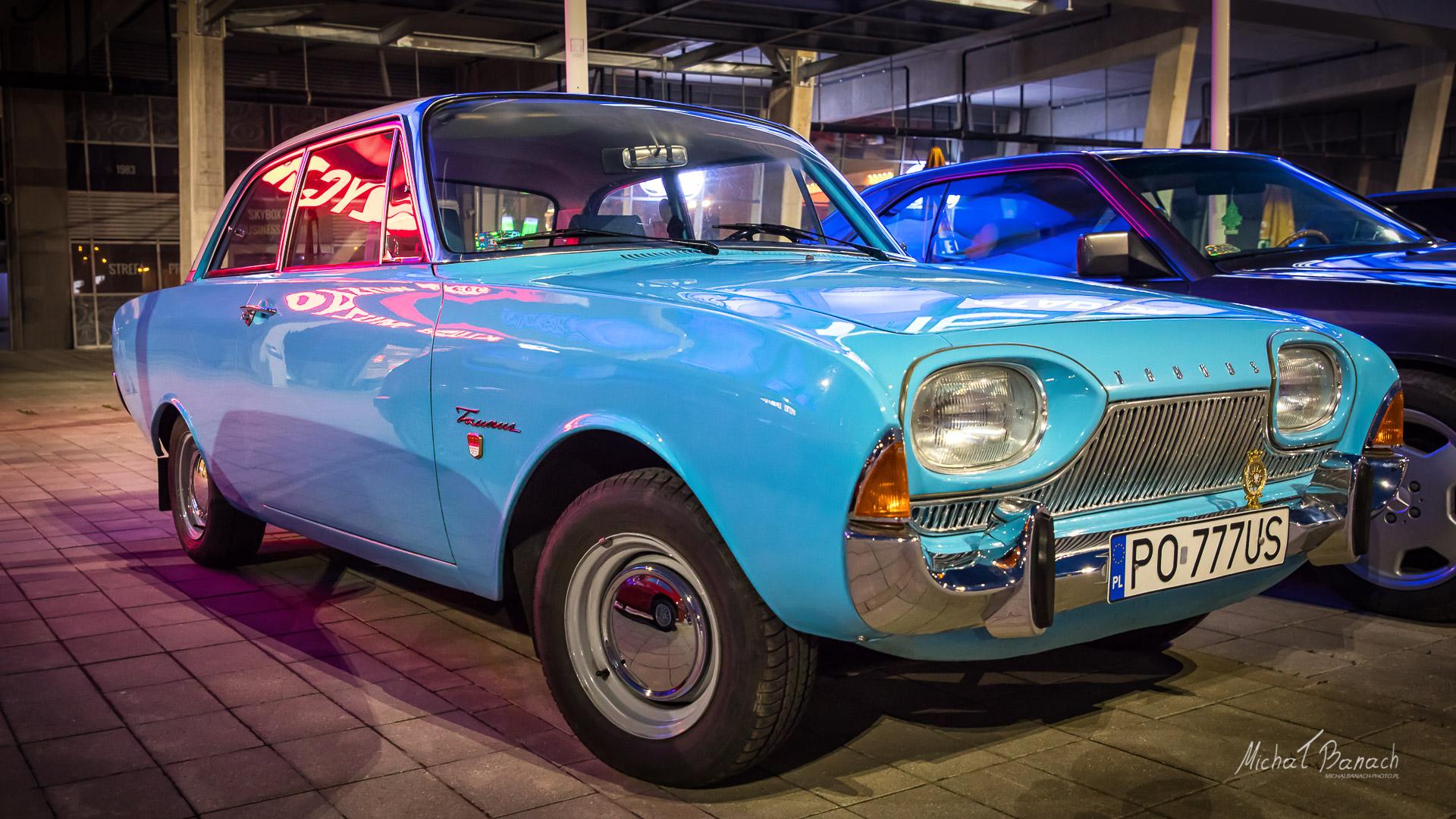 Ford Taunus - Poznańskie Klasyki Nocą