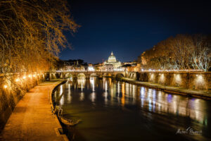Night colors of Rome