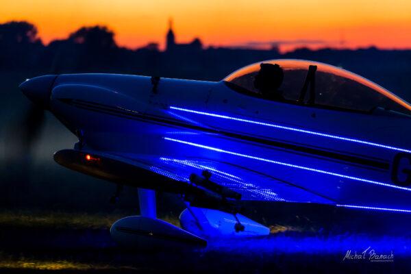 Van RV4 (G-SPRK) - Fireflies Aerobatic Display Team